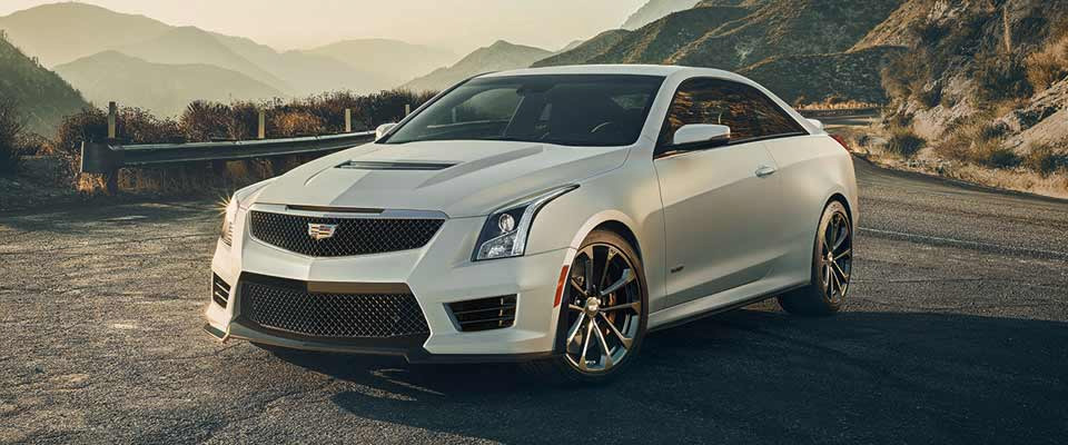 2016 Cadillac ATS-V Coupe in Greenville